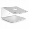 Soporte Aluminio Design Accesorio para computador portátil para oficina y hogar.Características – diseño: Ideal para apple no mayor a 17¨. Altura fija de 13,5 cms
