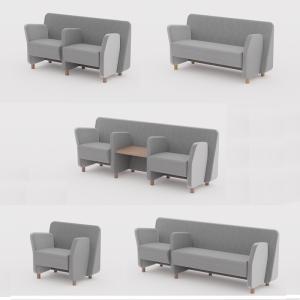 Sofá y poltronas modulares Wiz